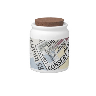 Limited Government Candy Jars