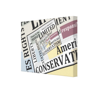 Limited Government Canvas Print