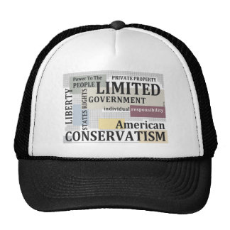Limited Government Hats