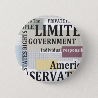 Limited Government Pinback Button