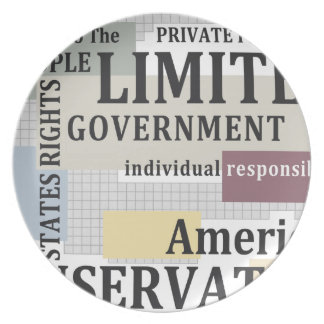 Limited Government Plate