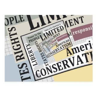 Limited Government Postcard