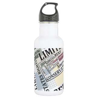 Limited Government Stainless Steel Water Bottle