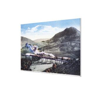 Limited Rail, Horseshoe Curve Canvas Print