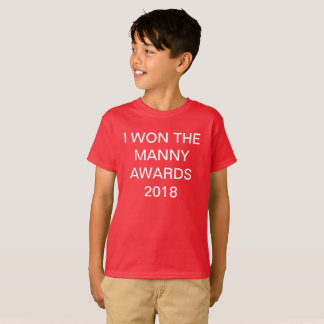 Limited time MANNY AWARDS merch T-Shirt