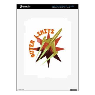 Límites externos Rocket Pegatinas Skins Para iPad 3