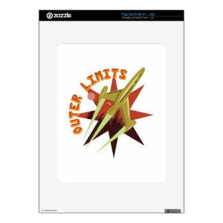 Límites externos Rocket Skin Para El iPad