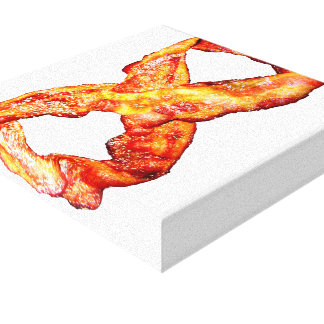 Limitless Bacon Gallery Wrap Canvas