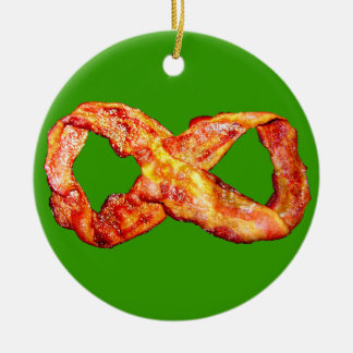 Limitless Bacon Ceramic Ornament