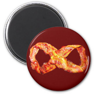 Limitless Bacon Refrigerator Magnet