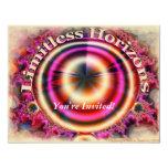 "Limitless Horizons 4.25"" X 5.5"" Invitation Card"
