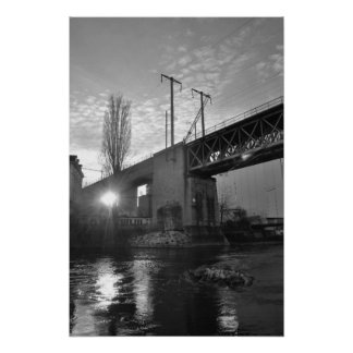 Limmatbrücke Sihlquai Poster