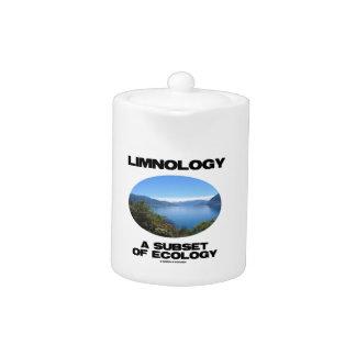 Limnología un subconjunto de ecología
