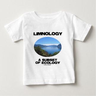 Limnología un subconjunto de ecología t shirt