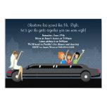 Limo Bachelorette Party Invitation