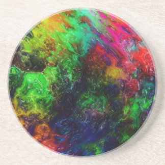 Limo del arco iris posavasos para bebidas