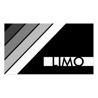 LIMO retro Tarjetas De Visita