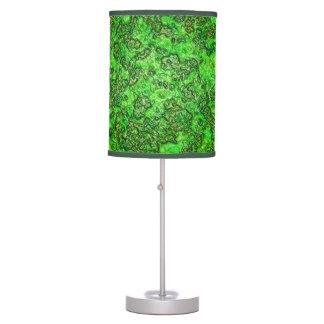 Limo verde lámpara de escritorio