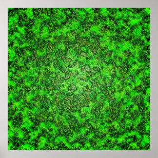 Limo verde impresiones