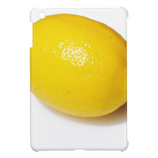 Limón amarillo brillante iPad mini cárcasa