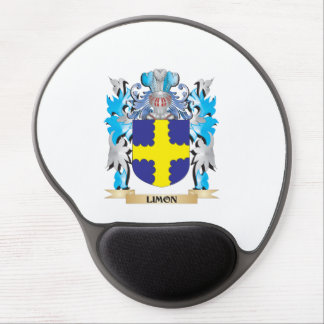 Limon Coat of Arms - Family Crest Gel Mouse Pad