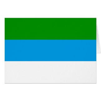 Limon, Costa Rica flag Card