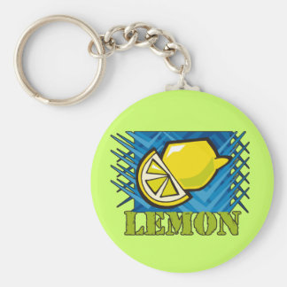 Limón de punta llaveros