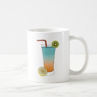 Limón dulce del kiwi de la comida del destino del  tazas de café