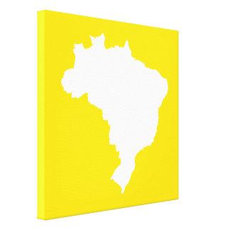 Limón el Brasil festivo en Emporiomoffa Lienzo Envuelto Para Galerias