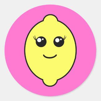 limón femenino pegatina