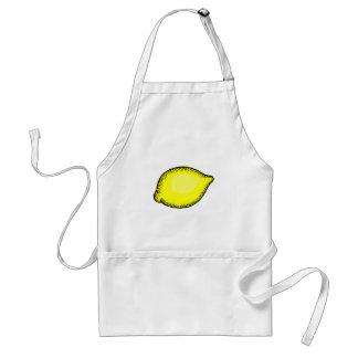 Limón gigante delantal