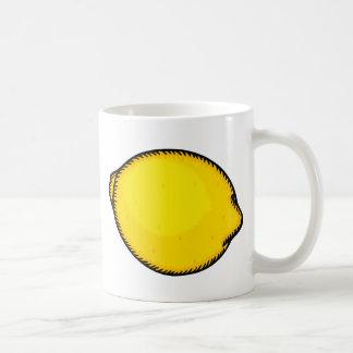 Limón grande taza de café