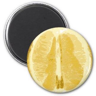 Limón Imán Redondo 5 Cm