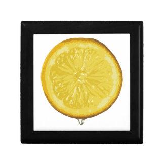 Limón Joyero Cuadrado Pequeño