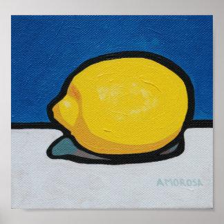 Limón Lemony Póster