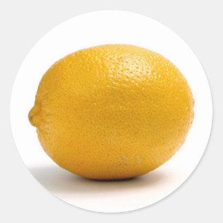 Limón Etiqueta