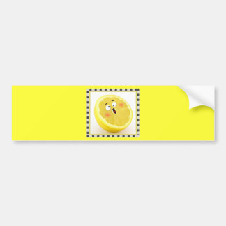 limón pegatina para auto