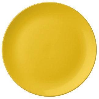 Limón profundo platos de cerámica