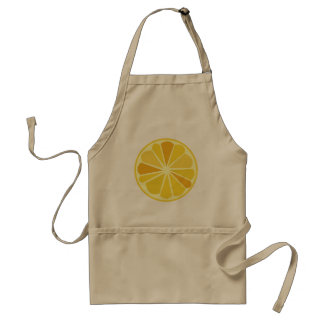 Limón retro delantal