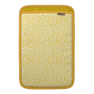 Limón soleado de los pequeños puntos fundas para macbook air