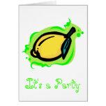 limón tarjeta