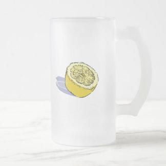 Limón Taza De Cristal