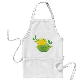 Limón y cal delantal