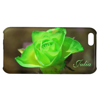 Limon Yellow Rose iPhone 5c Case *personalize*