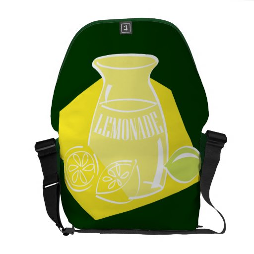 Limonada agria fría bolsas de mensajería