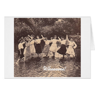 Limonada claveteada tarjeta de felicitación