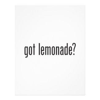 """limonada conseguida folleto 8.5"""" x 11"""""""