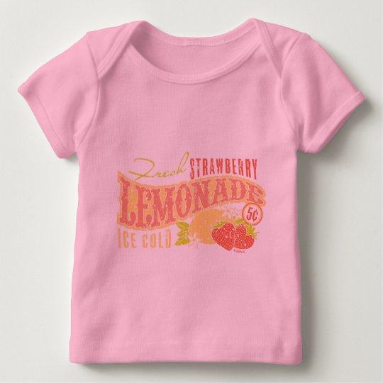 Limonada de la fresa playera de bebé