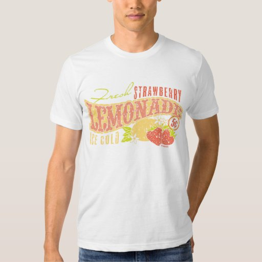 Limonada de la fresa remera