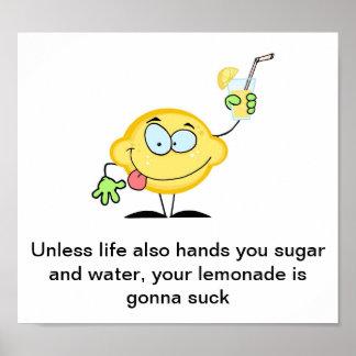 Limonada Póster